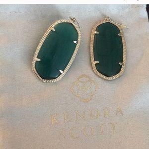 Emerald Danielle earrings